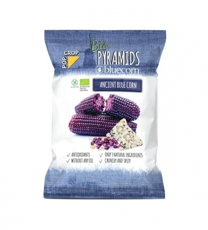 Organic bluecorn PYRAMIDS (Chips with no fat added)