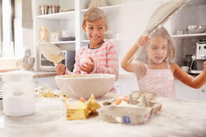 Wie macht man eine gute Mischung aus glutenfreien Mehlen?