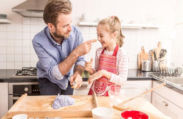 Preparation of gluten-free dough