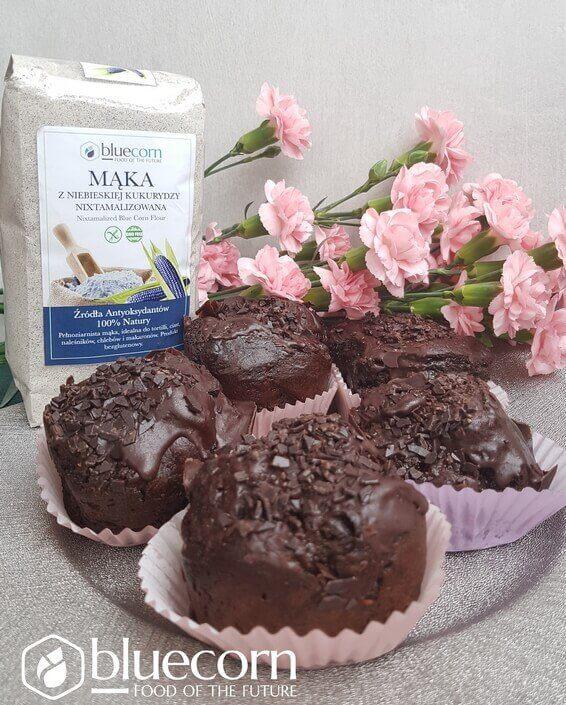 Muffinowa Pyszota (Bezglutenowe muffiny z czekoladą i cukinią)