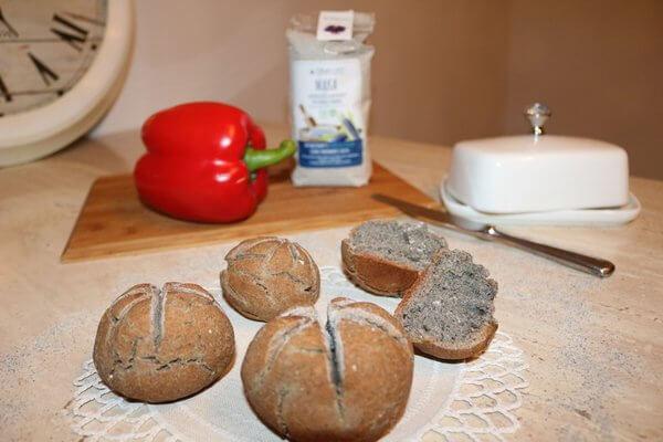 Glutenfreie Brötchen zum Frühstück